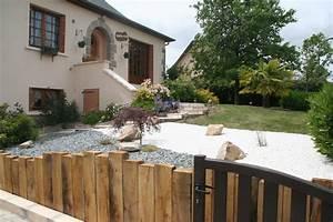 Aménagement Extérieur Maison : am nagement ext rieur maison amenagement jardin zen inds ~ Farleysfitness.com Idées de Décoration