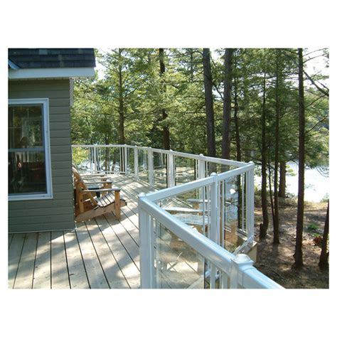 tempered glass railing panel  rona