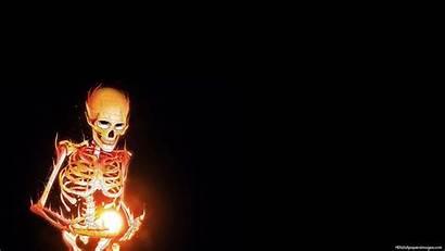 Skeleton Wallpapers Skelton Burning Cool Desktop Px