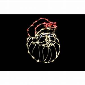 Northlight, 18, In, Lighted, Santa, Christmas, Window, Silhouette, Decoration-32605979