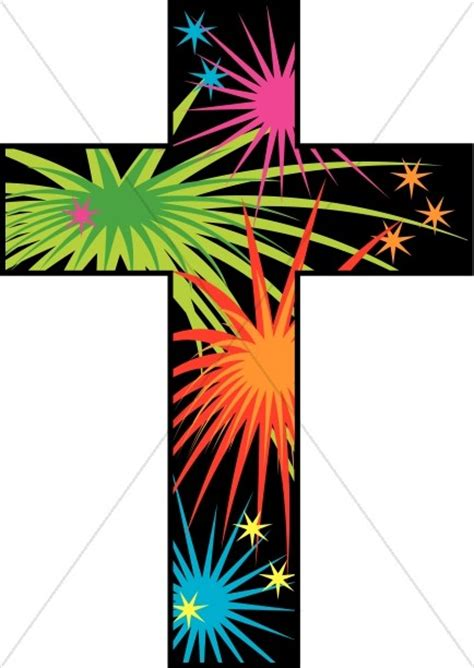 cross  fireworks