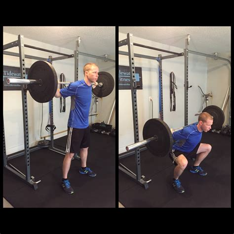 squat front kettlebell arm