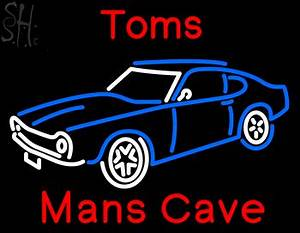 Custom Toms Man Cave Car Neon Sign 8