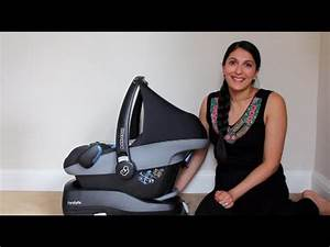 Maxi Cosi Pebble Isofix Base : maxi cosi pebble car seat familyfix base youtube ~ Eleganceandgraceweddings.com Haus und Dekorationen
