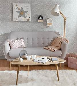 le style scandinave en soldes frenchy fancy With tapis yoga avec canapé vintage scandinave