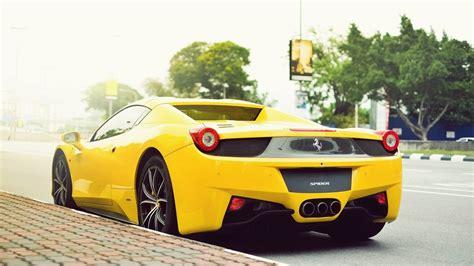 ferrari yellow yellow 458 italia wallpaper