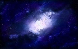 Wallpaper Galaxy Nebula Pink Blue - Pics about space