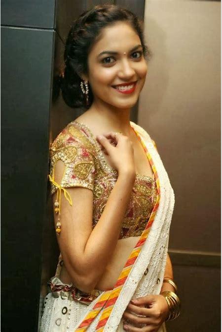 Indian-Film-Actress-Ritu-Varma-Saree-07 - More Indian Bollywood Actress and Actors
