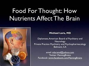 How Nutrients Affect The Brain