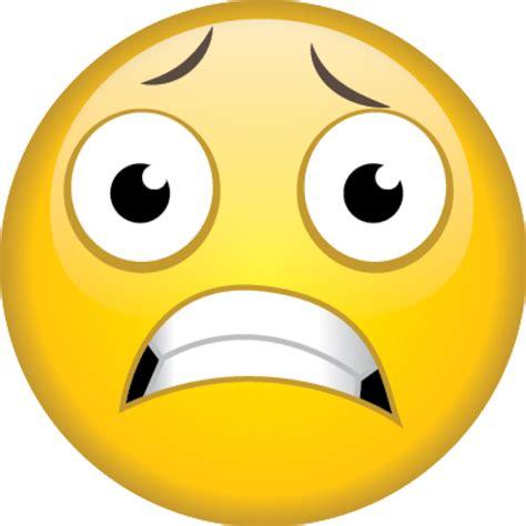 Image result for scared emojii
