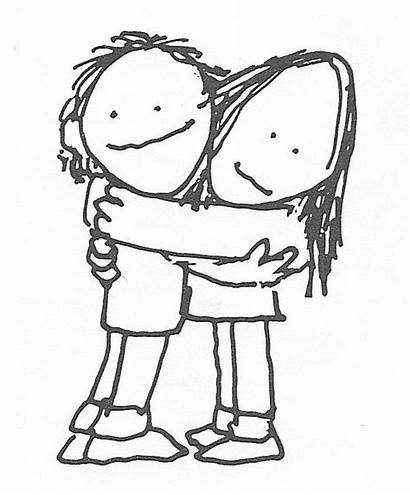 Hug Sorry War Hugs Hugging Clipart Poem