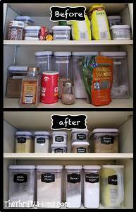the 25 best deep pantry organization ideas on pinterest With kitchen cabinets lowes with small chalkboard stickers