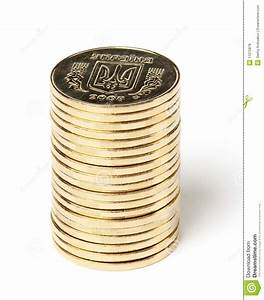 Stack Of Ukrainian Coins Royalty Free Stock Photos - Image ...