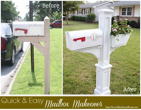 Quick & Easy Mailbox Makeover Diy Built In Wardrobe Inserts Installing Tile Over Vinyl Cabinets With Desk Valentine S Day Cards For Your Mom Installation Bathroom Bypass Sliding Barn Door Hardware Simple Outdoor Coffee Table External Gpu Thunderbolt 3