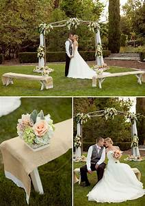 blog burlap and lace wedding ideas With small wedding ceremony ideas