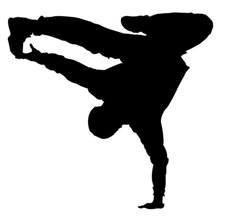 hip hop clipart free dancer silhouettes clipart best