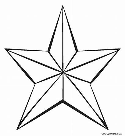 Coloring Star Pages Printable Whitesbelfast