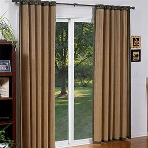 window coverings for glass front doors glass doors With grommet curtains for sliding glass doors