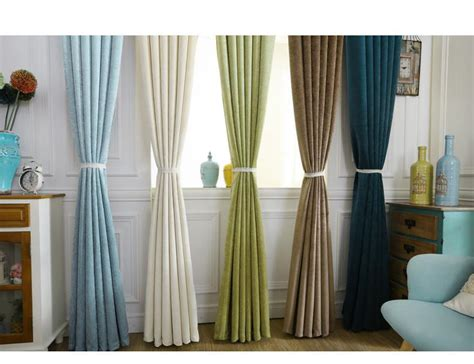 luxury curtains european and american style hotel chenille
