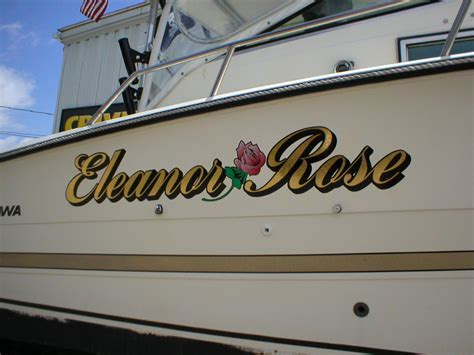 boat lettering decals boat lettering and boat graphics crivello signs inc