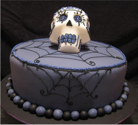 cool dark purple halloween cake photosjpg  comment