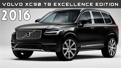 2016 Volvo Xc90 T8 Excellence Edition Review Rendered