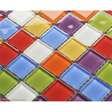 rainbow tiles rainbow color candy 25x25 mosaic tiles home natural design mirror tile