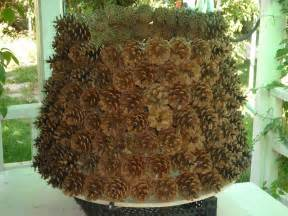 picture of diy pine cones christmas tree