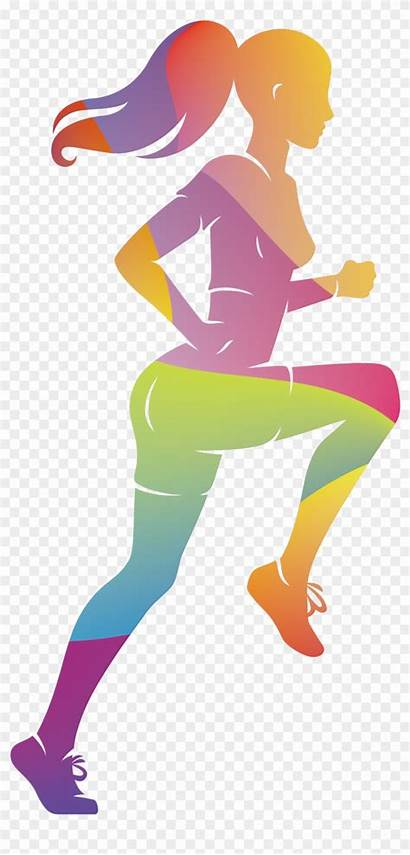 Clip Running Athlete Athletics Sport Runners Clipart