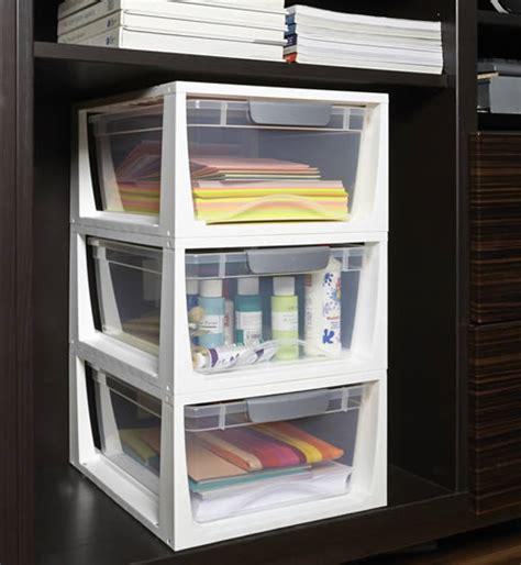 Craft Storage Drawers by Stacking Craft Storage Drawers Craft Boxes Storage Ideas