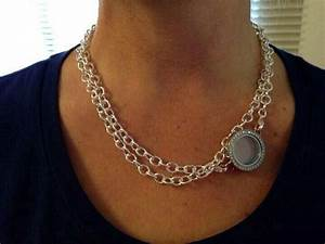 A different way to wear the over the heart necklace ...