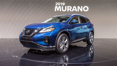 2019 Nissan Murano by 2019 Nissan Murano Is Refreshed With More Tech And Updated