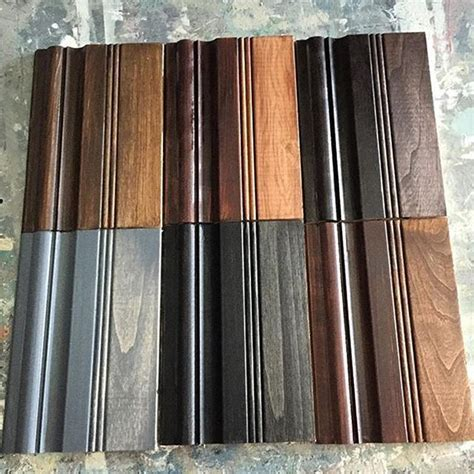 Gel Stain Sample Boards   General Finishes Design Center