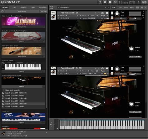 Fazioli Ebony Concert Grand 32,07 Gb ( Piano ) ( 32 Bits