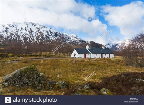 glencoe cottage white cottage glencoe stock photos white cottage glencoe
