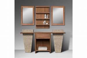 Colonne Salle De Bain Avec Miroir : attrayant meuble colonne salle de bain lapeyre 11 salle ~ Dailycaller-alerts.com Idées de Décoration