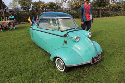 Messerschmitt Kr200- Adorable Three-wheeled Bubble Car
