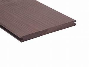 Megawood Premium Plus : vlonderplank lavabruin composiet megawood 21 x 242 x 3600 mm ~ Michelbontemps.com Haus und Dekorationen