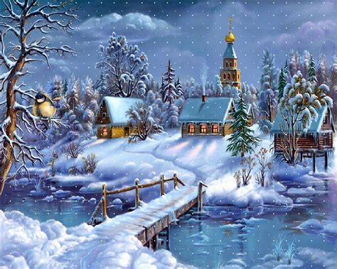 Animated Winter Wallpaper Free - winter wallpapers wallpaper cave