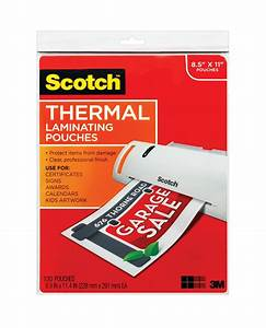 3m scotch tp3854 100 thermal laminating pouches letter With scotch letter size thermal laminating pouches