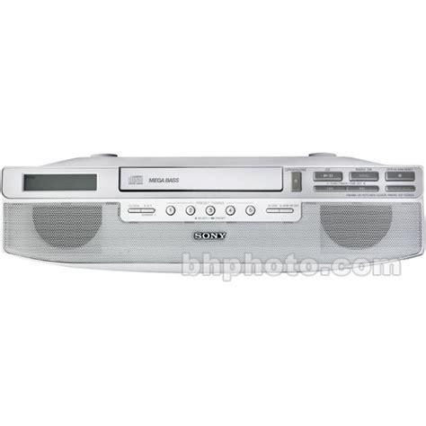 Sony Icfcd523 Under Cabinet Kitchen Cd Clock Radio