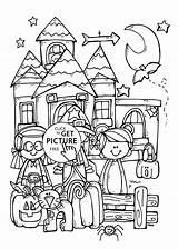Halloween Coloring Printable Funny Happy Printables Pumpkin Drawing Mandala Drawings Cool Carving 4kids Sheets Getdrawings Holidays Brilliant Winnie Pooh Birijus sketch template