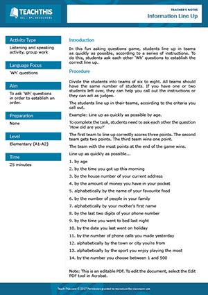 questions esl games activities worksheets