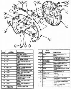 I Need An Exploded View Of The Rear Drum Brakes For A 1997