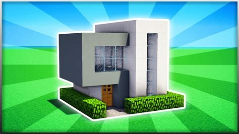 Modernes Haus Minecraft Klein by Minecraft How To Build A Easy Small Modern House 2