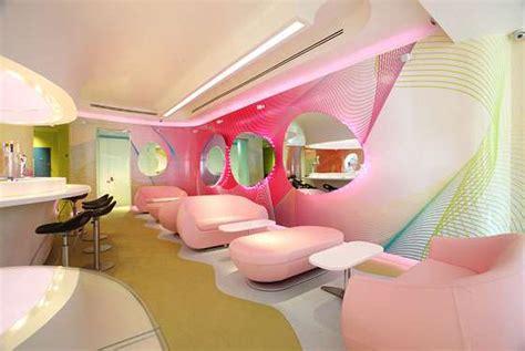 Pink Retro Restaurants Kurve By Karim Rashid