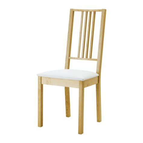 chaise bois ikea börje chair ikea