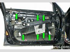 BMW E39 5Series Front Window Regulator Replacement 1997