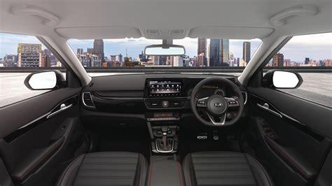 kia seltos  india interiors revealed shifting gears