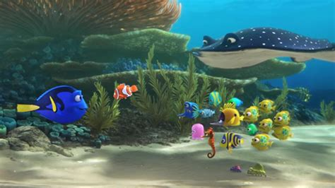 finding dory cast  characters  announced   otters    heart